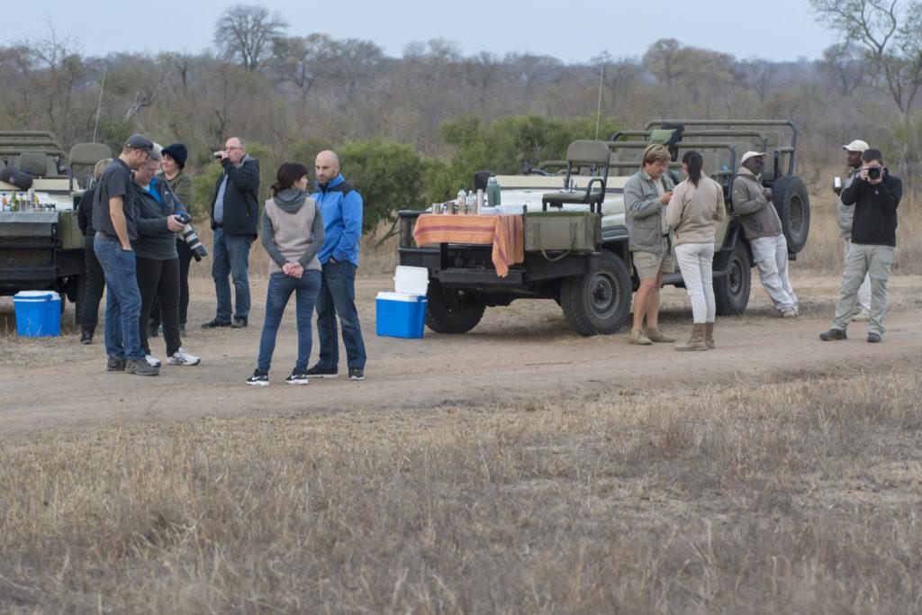 South African Safari Coffee Stop